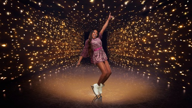 Lady Leshurr on Dancing On Ice