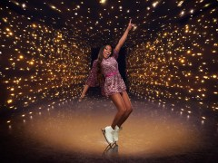 Who is Dancing On Ice star Lady Leshurr and what songs does she perform?