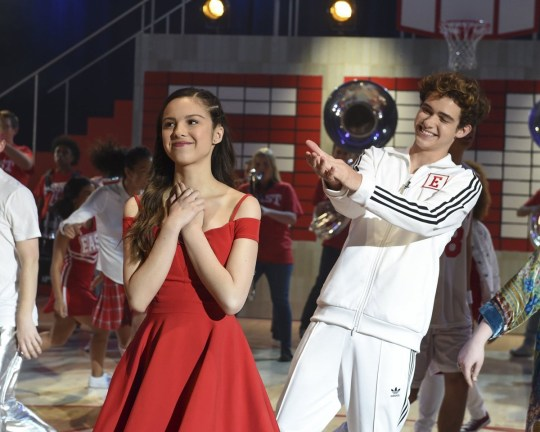 Editorial use only. No book cover usage. Mandatory Credit: Photo by Walt Disney Pictures/Kobal/REX (10574100ei) Olivia Rodrigo as Nini and Joshua Bassett as Ricky 'High School Musical: The Musical - The Series' TV Show Season 1 - 2019 The students from the school where the High School Musical films were shot stage a musical production based on the franchise.