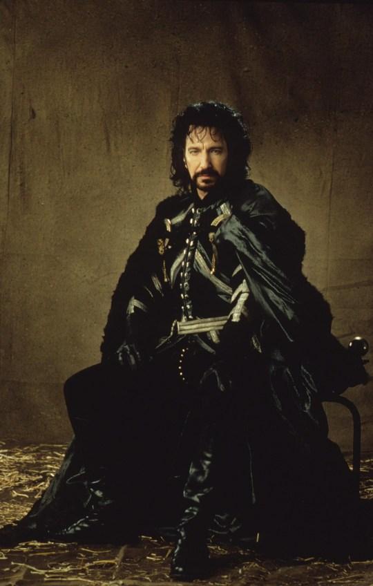 Alan Rickman in Robin Hood: Prince Of Thieves