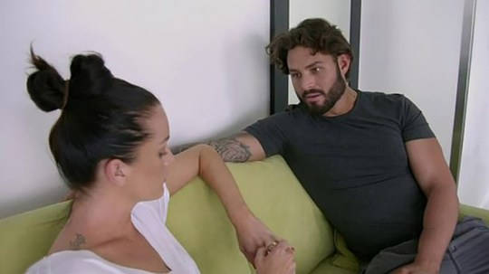 Ines Basic and Sam Ball on Married At First Sight Australia