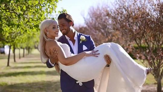 Married At First Sight Australia Sam Ball and Elizabeth Sobinoff