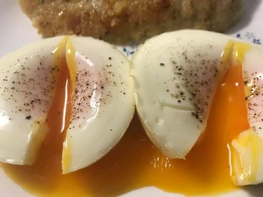 the runny eggs