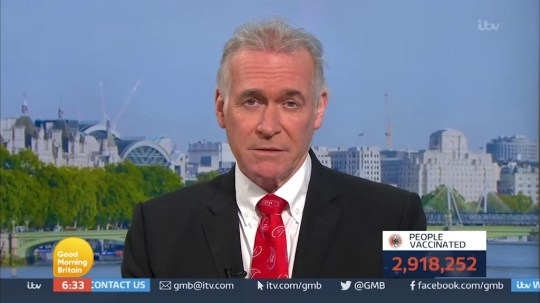 Dr Hilary Jones, Good Morning Britain (Picture: ITV)