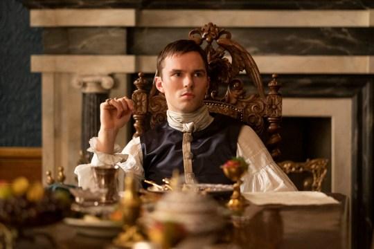 Nicholas Hoult as Peter, Emperor of Russia.Actor: Nicholas Hoult..
