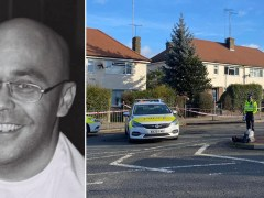 Another man stabbed in same road as slain delivery driver