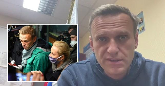 Le critique du Kremlin Alexei Navalny emprisonné pendant 30 jours