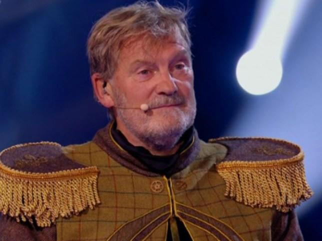 Glenn Hoddle on The Masked Singer UK