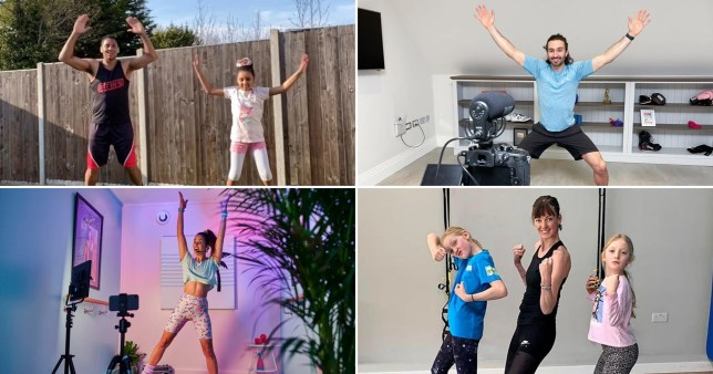 Newspaper: 20/01 Top family friendly online workouts