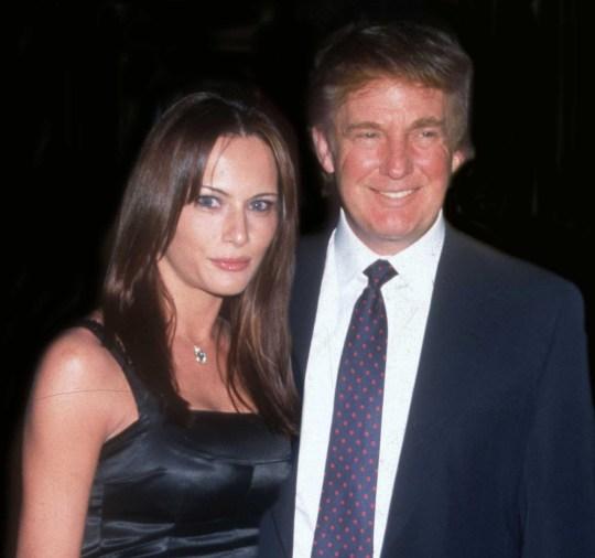 Mandatory Credit: Photo by John Barrett/photolink/Mediapunch/REX (10127856a) Melania Trump and Donald Trump Undated USA New York City Melania Trump and Donald Trump Undated