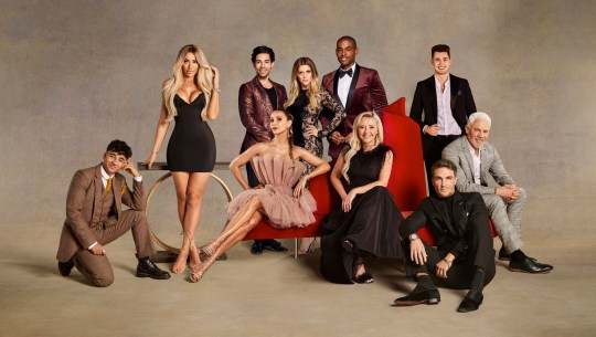 Celebs Go Dating: The Mansion cast members