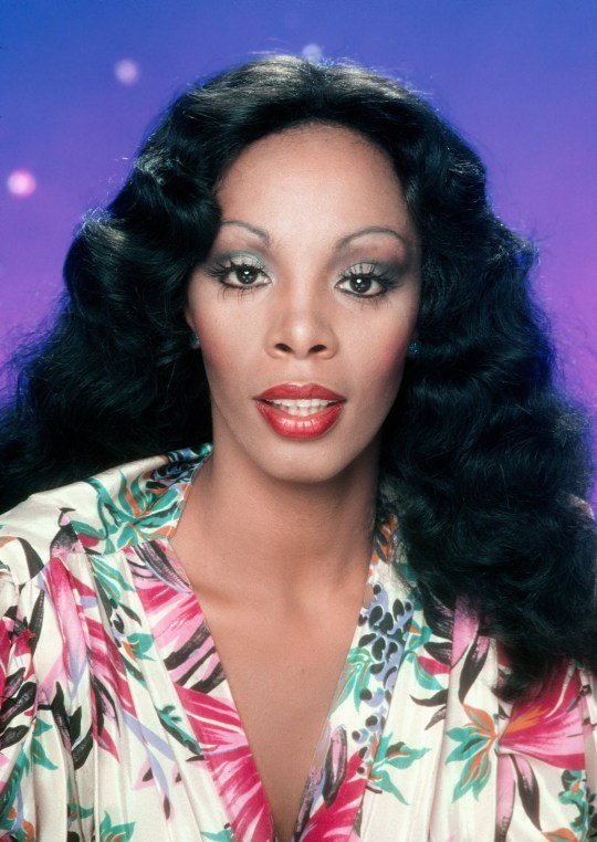 LOS ANGELES - MAY 16: Singer Donna Summer poses for an album cover session on May 16, 1978 in Los Angeles, California. (Photo by Harry Langdon/Getty Images)