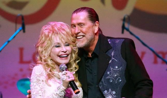Randy Parton and Dolly Parton.