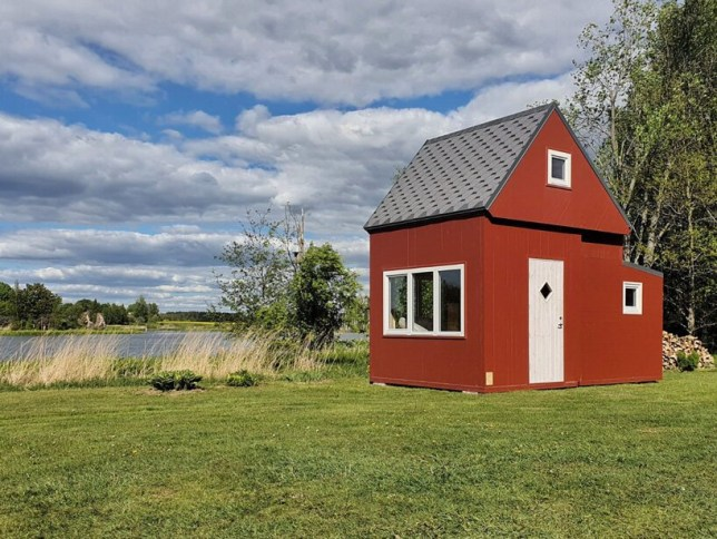 Amazing mini house you can unfold wherever you fancy Brette Haus