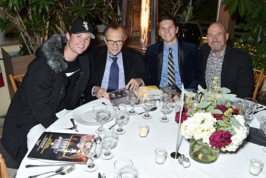 Larry King and his sons