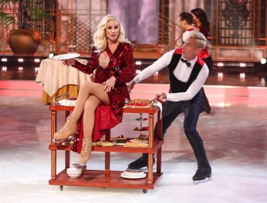Denise Van Outen on Dancing On Ice