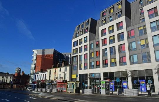 Co-op on Leece Street, Liverpool.