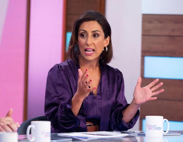 Saira Khan on Loose Women