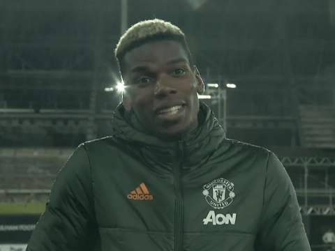 Paul Pogba says Anthony Martial and Manchester United's strikers 'do not have the same quality' as Edinson Cavani