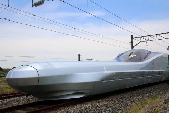 Next generation Shinkansen bullet train