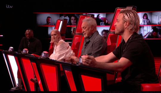The Voice judges Olly Murs, Tom Jones, Anne Marie and Will.i.am