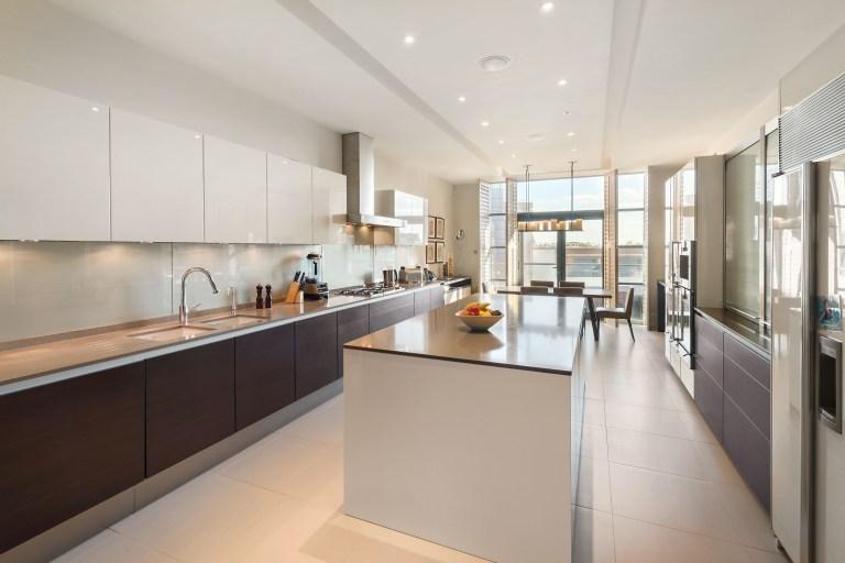 kitchen in trevor square property