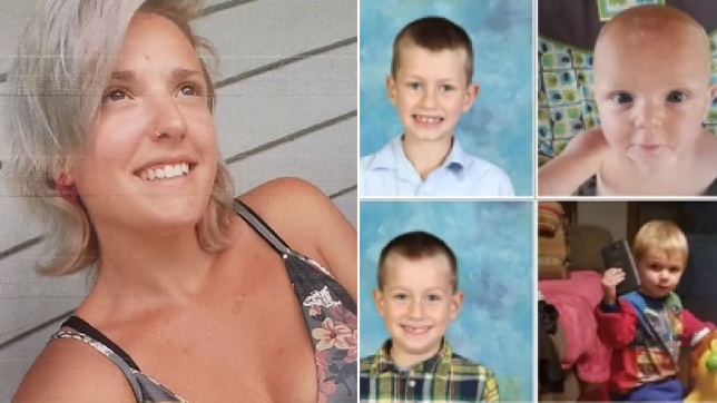 Mother and young sons she murdered