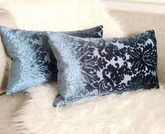 Brocade cushions