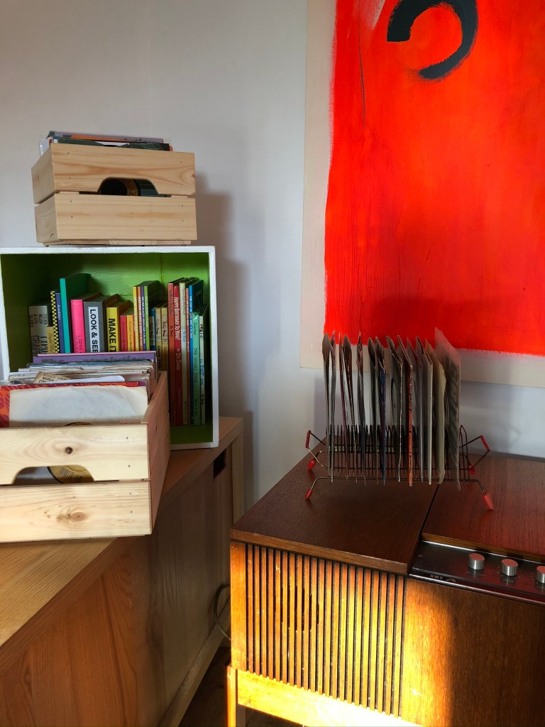 What I Rent: Iona and Jack, Oldham, Manchester - record collection