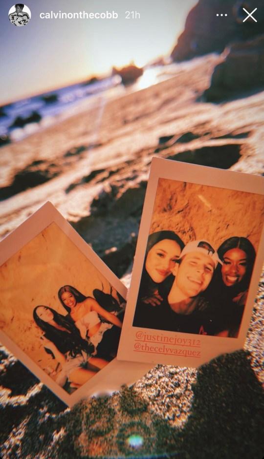 Love Island USA stars Cely Vazquez, Justine Ndiba and Calvin Cobb