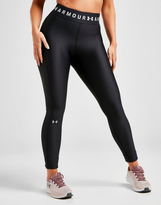Under armour branded tights