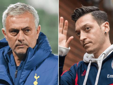 Jose Mourinho hits back at Arsenal's Mesut Ozil over 'retirement' jibe at Tottenham