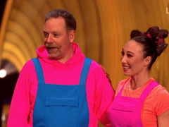 Dancing On Ice star Rufus Hound takes swipe at government over school meals on air