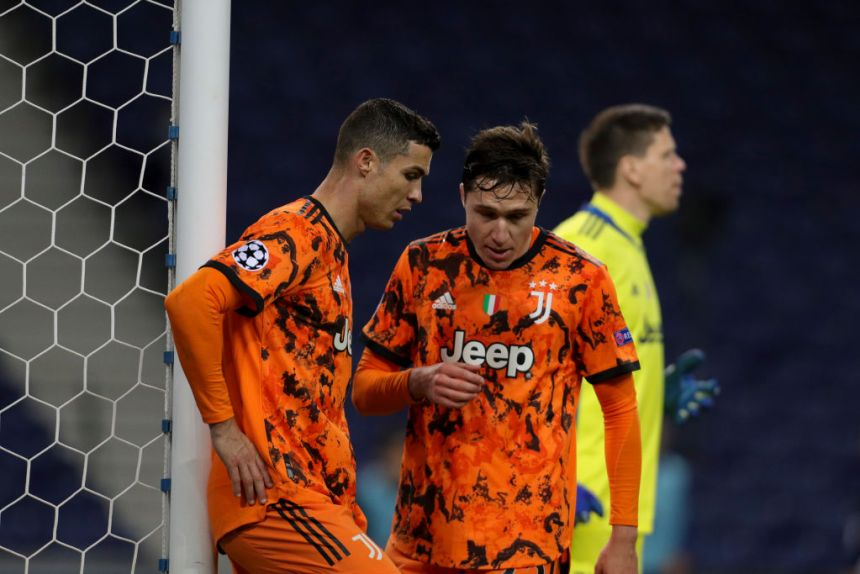 Cristiano Ronaldo failed to score in Juventus' defeat against Porto