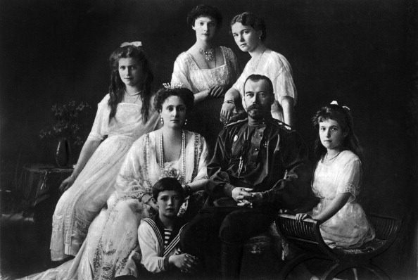 Tsar Nicholas Ii Of Russia With His Family