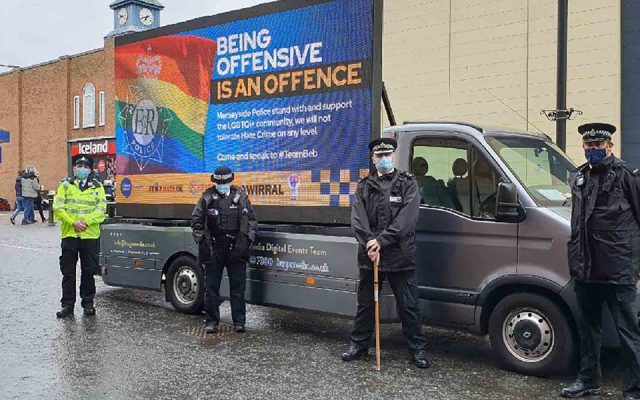 police launch 'being offensive is an offence' campaign