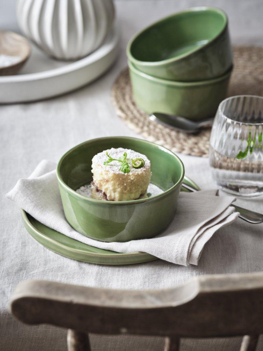 Green tableware
