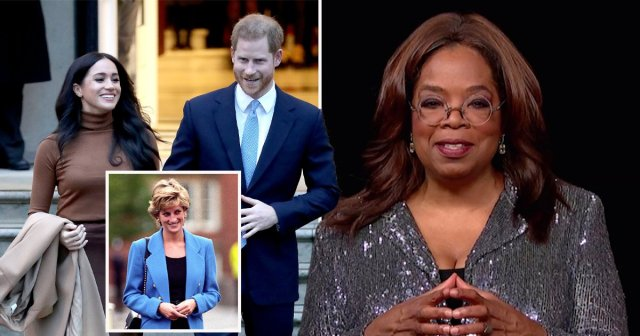 Oprah?s links to Harry and Meghan go back 30 years to Princess Diana ?lunch pitch?