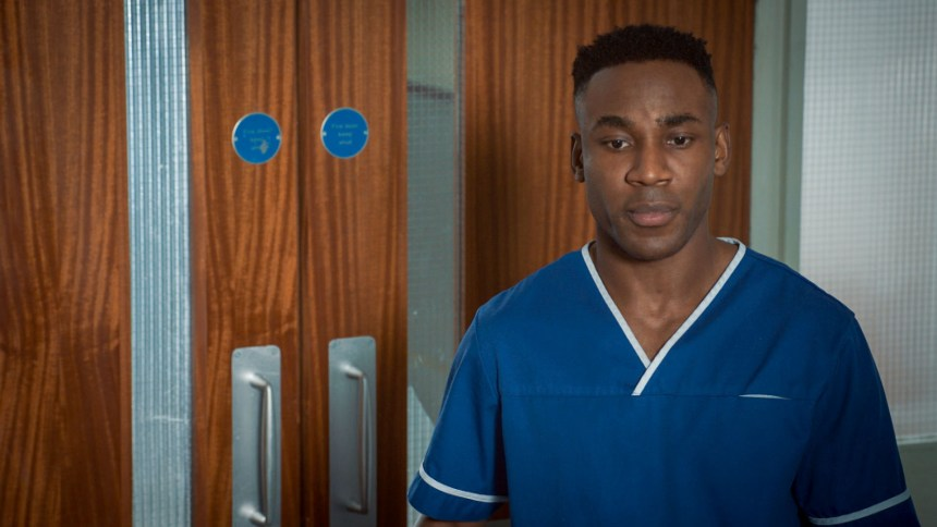Alex in Holby City