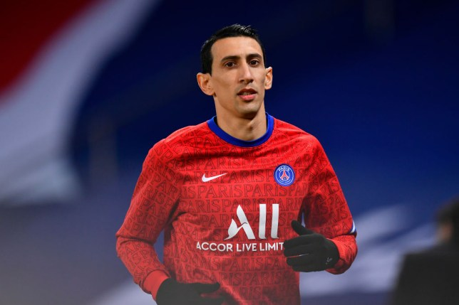 https verietyinfo com uk angel di maria is forced to flee the psg match as the house is looted by the family