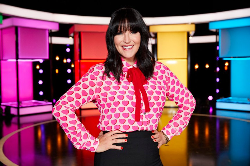 Naked attraction Pictured: Anna Richardson