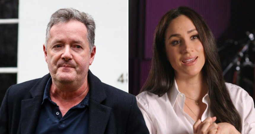 Piers Morgan makes another dig at Meghan Markle ahead of interview Getty
