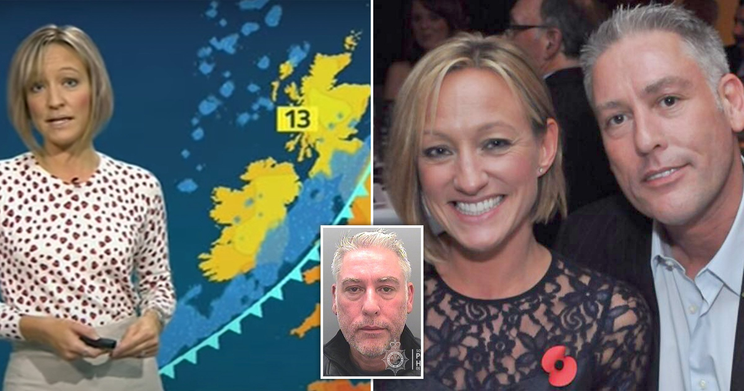 ITV weather presenter's obsessed ex jailed after fitting tracker to her car