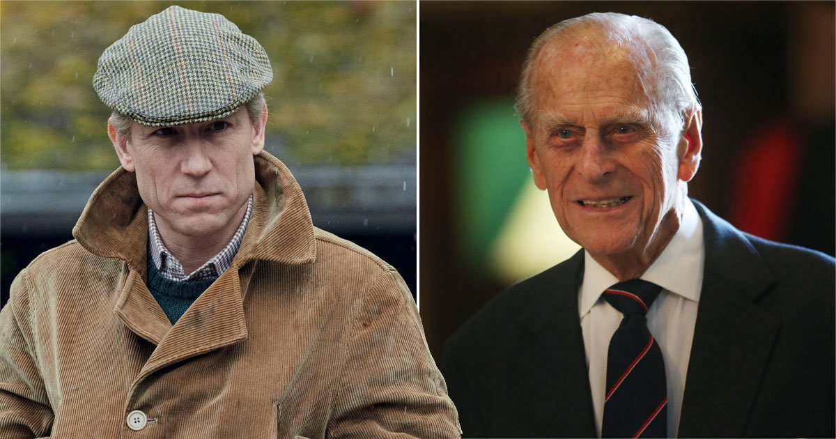 The Crown's Tobias Menzies says 'a lot of forces were at play' within Prince Philip ahead of royal funeral