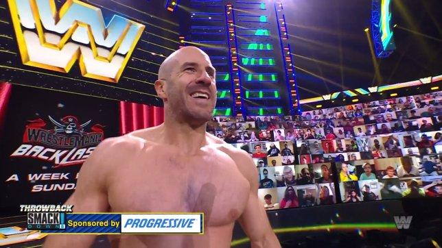 WWE superstar Cesaro on SmackDown
