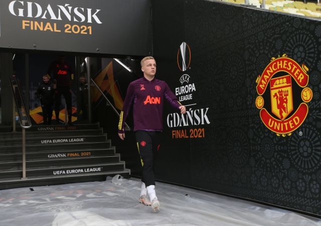 Manchester United FC Training Session and Press Conference - UEFA Europa League Final 2021