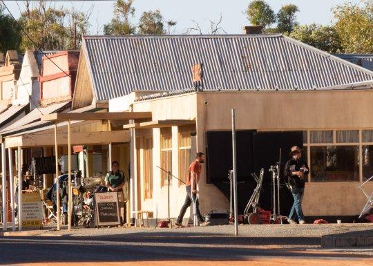Jamie Dornan The Tourist filming