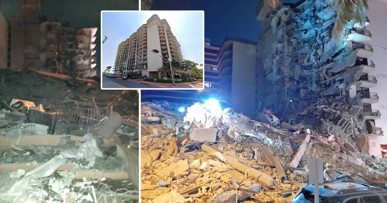 Miami: 11-storey building collapses sparking massive rescue operation |  Metro News