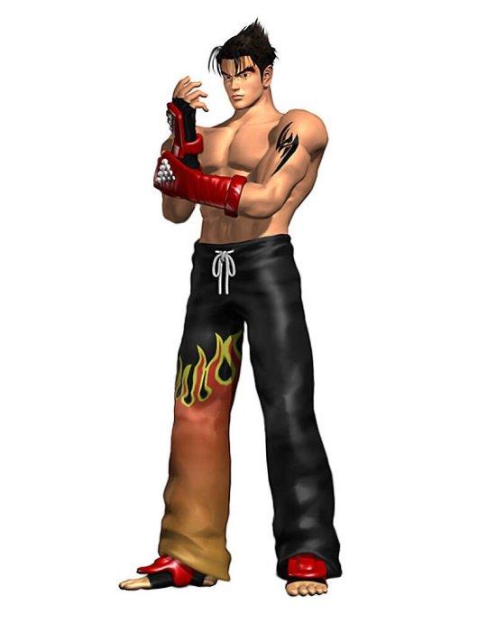 Jin - character from Tekken 2