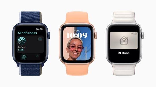 Three Apple Watches
